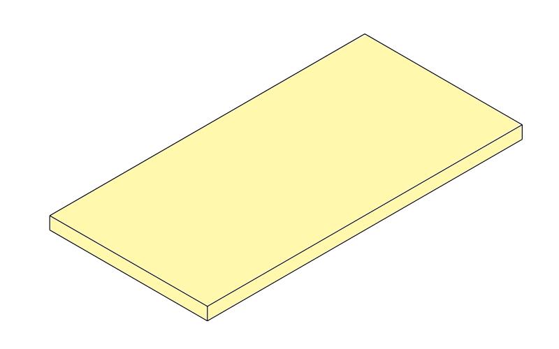 Große Platten 3 cm